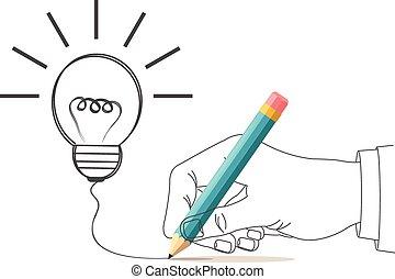 Vector idea illustration