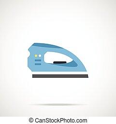 vector, ijzer, pictogram