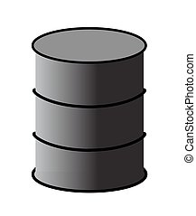 Vector illiustration - petroleum barrel