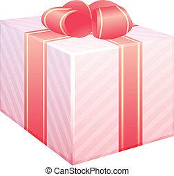 Vector illstration of gift box