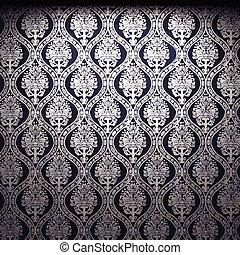 vector illuminated fabric wallpaper background