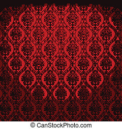 vector illuminated fabric wallpaper