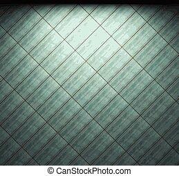 vector illuminated tile wall background