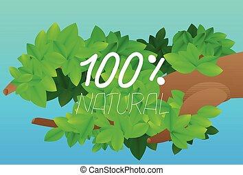 100 percentages natural