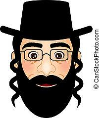 vector, illustratie, orthodox