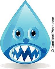 water cartoon