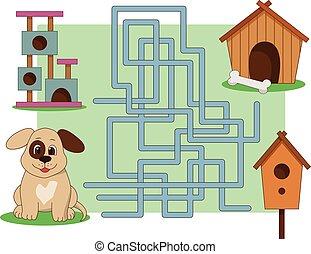 illustration a maze