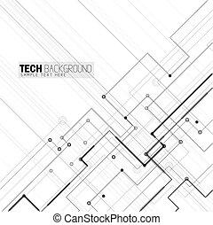 vector illustration abstract futuristic circuit board...