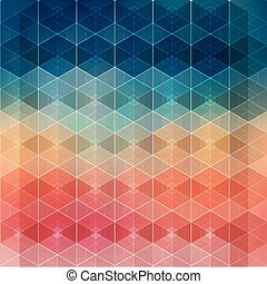 Vector illustration Abstract geometric background