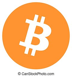 Bitcoin crypto - Vector illustration Bitcoin crypto...