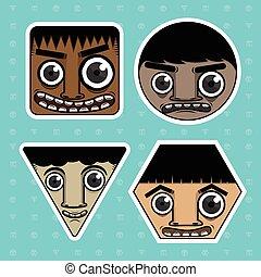 Cartoon emotions