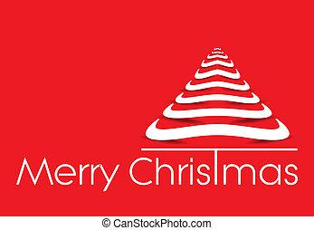 vector illustration christmas tree background