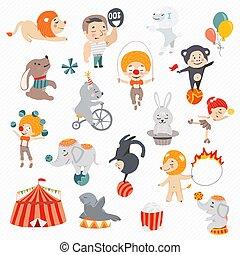 Vector illustration circus.