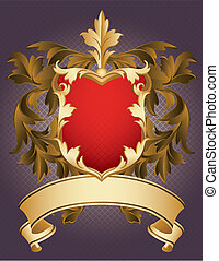 Coat of Arms - Vector illustration - Coat of Arms
