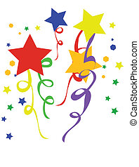 Vector illustration confetti