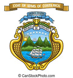 Costa Rican Coat of Arms