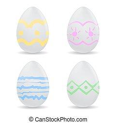 Vector illustration - easter egg