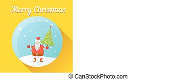 Vector illustration for christmas card design.