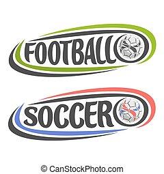 Vector illustration for Football or Soccer game