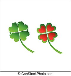Four leaves clover