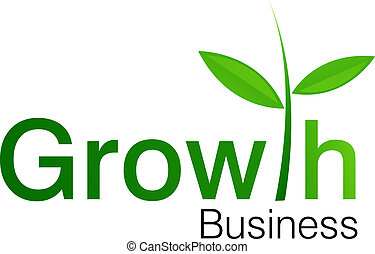 Growth Business logo for business companies, best place to invest your money. successful project.
