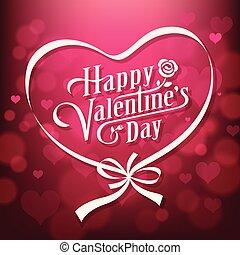 Vector illustration Happy Valentine's day