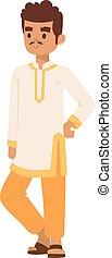 Vector illustration indian man
