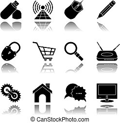 Internet Icon set