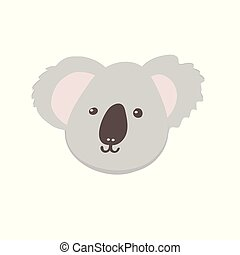 Vector illustration koala