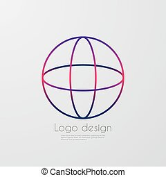 Vector illustration letter logo o
