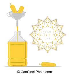 bottle Corn Oil