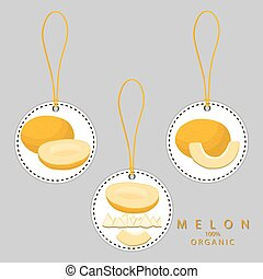 fruit yellow melon