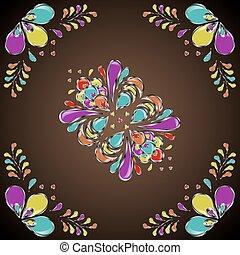 pattern folk style