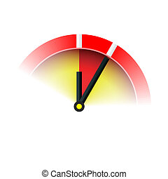 Vector illustration of 5 min sign