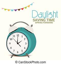 Daylight Saving Time(Spring Forward).