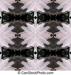Vector illustration of a black and