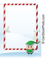 Vector illustration of a Christmas