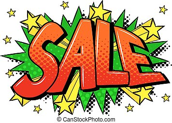 comic sound effect sale