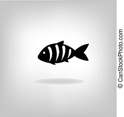 Vector illustration of a fish