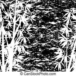 grunge bamboo