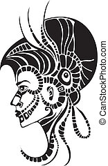 indian - vector illustration of a indian