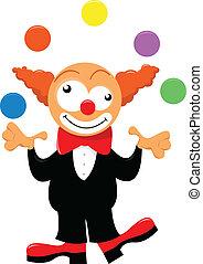 juggler - vector illustration of a juggler