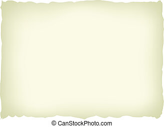 old paper - Vector illustration of a light yellow old paper