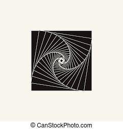 Vector illustration of a logo, emblem, symbol