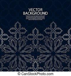 Vector illustration of a modern invitation.