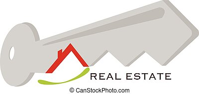 vector illustration of a real estate