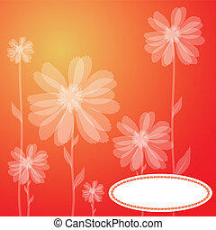 a red greeting card