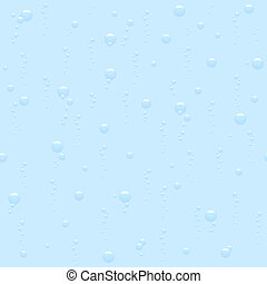 seamless bubbling background
