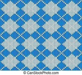 seamless knitted argyle sweater background