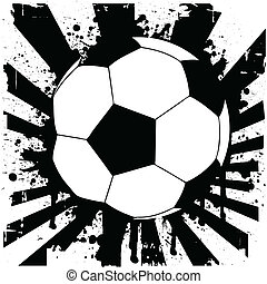 soccer ball - vector illustration of a soccer ball